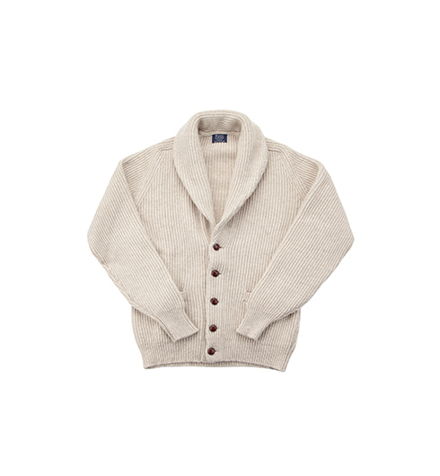 Windsor Shawl Collar Cardigan Linen