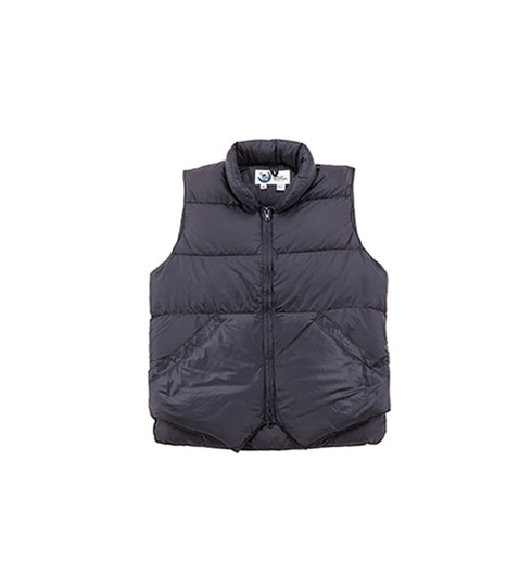 North by Northwest Vest Streakfree Black