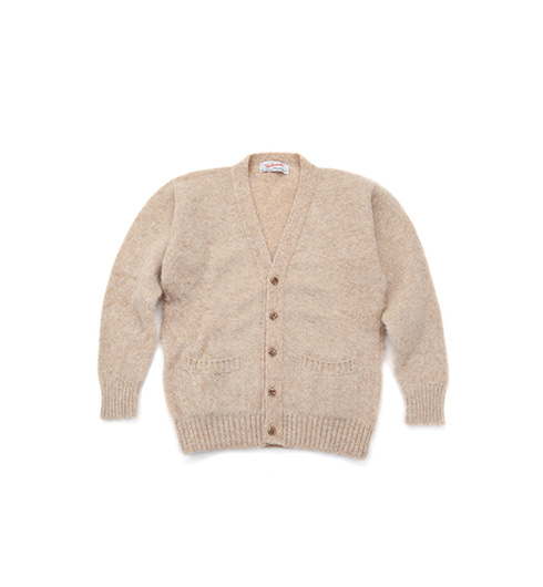 Shaggy Dog V-Neck Cardigan Tusk