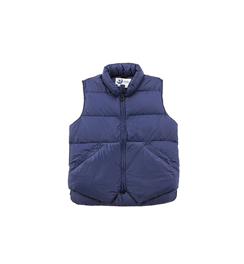 North by Northwest Vest Streakfree Navy
