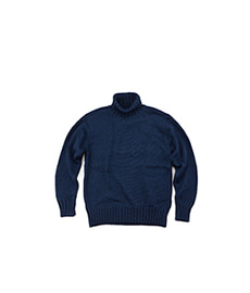 River Forest Turtleneck Navy