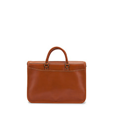 Marston Briefcase Caramel Saddle Leather