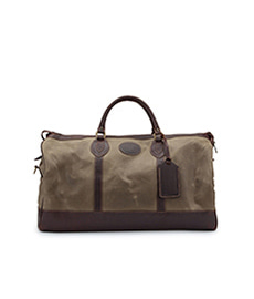 Weekender Linchen Waxed Canvas with Sundance Leather Trim - Medium