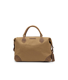 Explorer Safari Tan Canvas with Aztec Trim - Medium