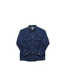 50's Coverall Denim One Wash