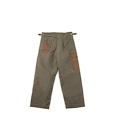 Buckle Pant Army Mix