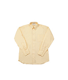 Standard Fit Pinpoint Oxford Yellow