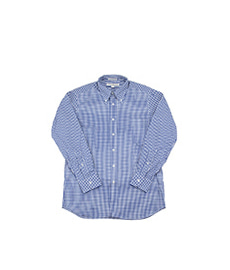 Standard Fit Gingham Check Navy