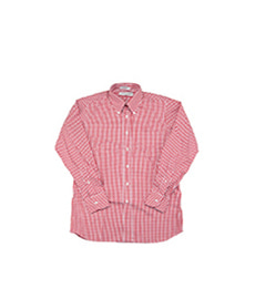 Standard Fit Gingham Check Red