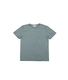215P Classic Crew Neck Pocket T-Shirt Meteor