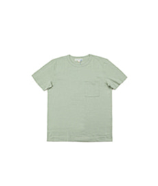 215P Classic Crew Neck Pocket T-Shirt Sage