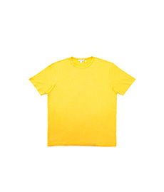 Short Sleeve Classic Crew Neck Booth Ochre