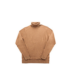Merino Roll Neck Jumper Camel