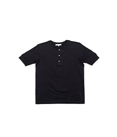 207 Henley S.Sleeve Deep Black