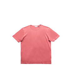 Short Sleeve Classic Crew Neck T-Shirt Rose Wood