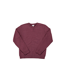Loopback Sweatshirt Marron