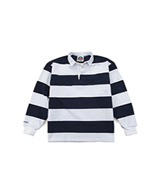 Classic Rugby Jersey Navy/White