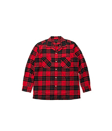 Abshinth Shirt Bar.2.0 Red Tartan Check
