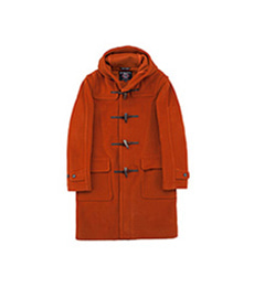 Newton Abbot Duffle Coat Burnt Orange