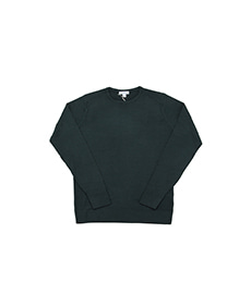 Crew Neck Jumper Forest