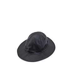 US Navy Hat Black Leather