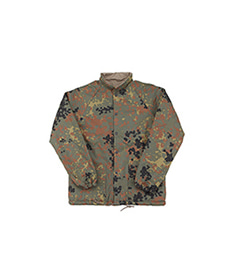 Cotton Shell Coach Jacket German Camo/Khaki