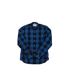 Slim Fit Shirt Blue Black Check