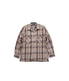 Absinth Shirt Twill Check Brown