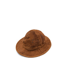 US Navy Hat Brown Suede