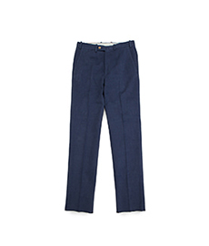 William Cotton Trouser Navy