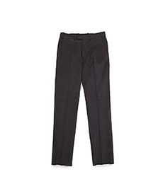 William Cotton Trouser Charcoal
