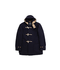 Mid Length Monty Coat Navy